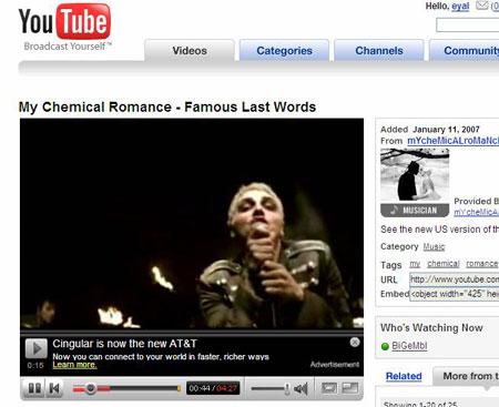Anuncios en Youtube