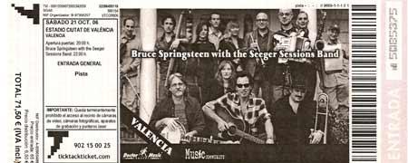 concierto Bruce Springsteen en Valencia