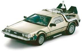 El coche de regreso al futuro: un Delorean modificado.