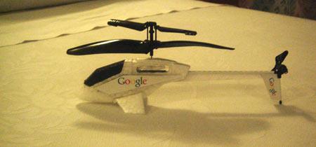 Helicoptero Google