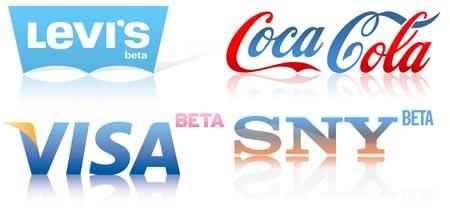 Logos 2.0 de marcas famosas