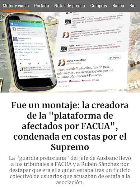 Maria Rosa Diez Flaquer condenada por el supremo